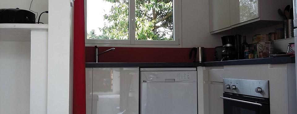 la cuisine du gîte est entièrement équipée