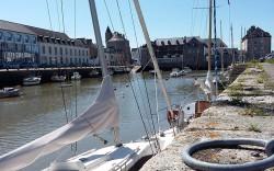 Anse à Pont-l'Abbé en cornouaille Bretonne