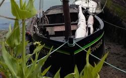 vieille coque au vieux port de la Forêt-fouesnant