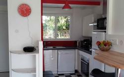 cuisine moderne du gite locneizh a la foret-fouesnant 29940
