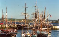 vieilles coques au port du Rosmeur douarnenez -finistère sud