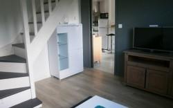 accès à l'étage du gîte locneizh à la Forêt-Fouesnant 29940